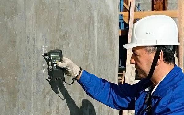 Неразрушимый контроль бетона декорации бетон