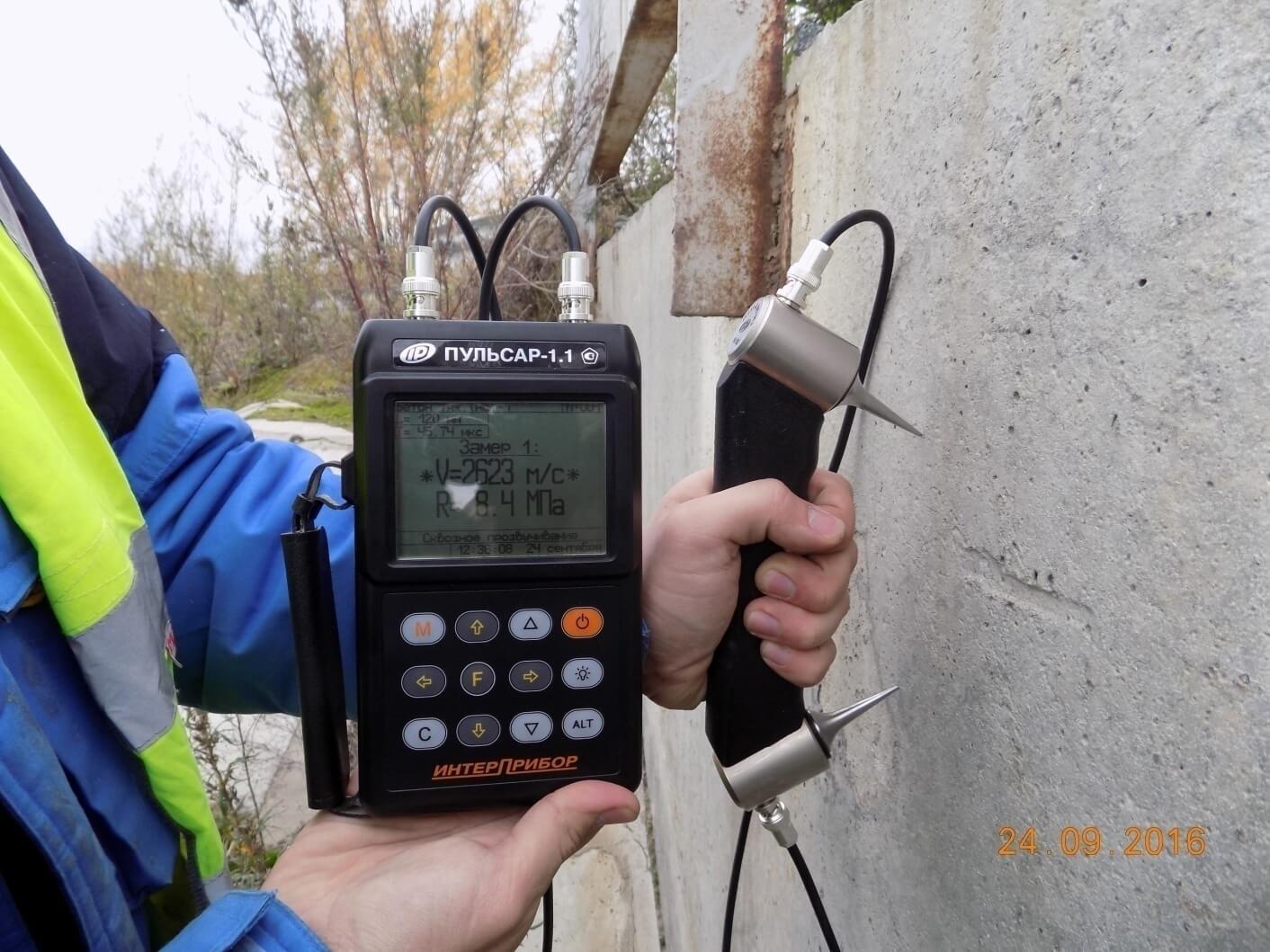 Проверка бетона ультразвуком керамзит бетон стяжка