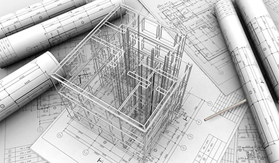 Designing of buildings and constructions